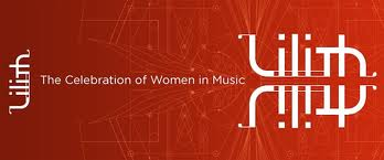 Lilith fair logo: Celebration of Women in Music