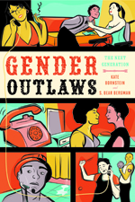 Cover of Gender Outlaws with colorful comics