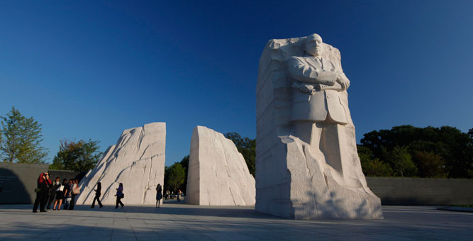 New MLK memorial on the National Mall