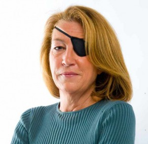 Journalist Marie Colvin headshot