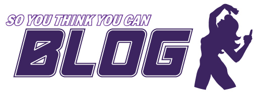 So You Think You Can Blog logo. Features the mudflap girl dancing. Image by Patrick Sheehan