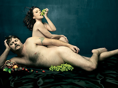 mullally and offerman naked