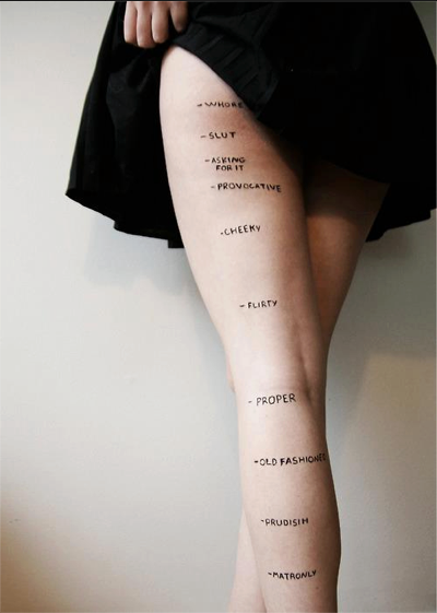 what does your skirt length say about you?