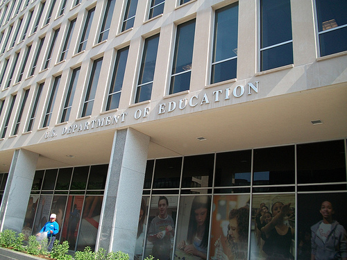 US Department of Education building