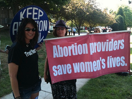 abortion providers save women's lives