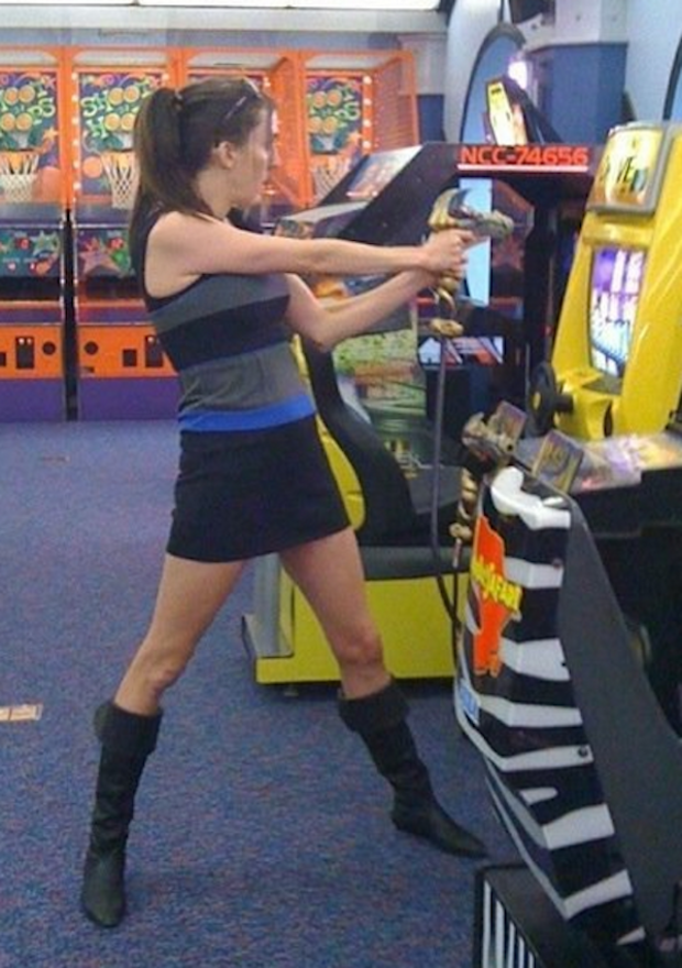 Brianna Wu, doing what she does best.