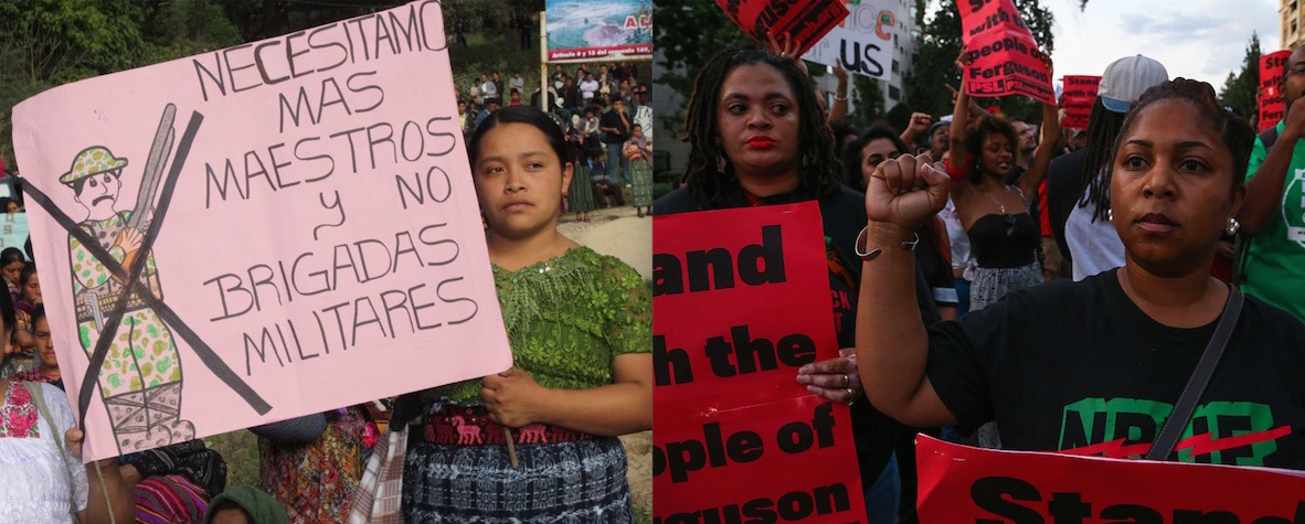 Ferguson & Guatemalan women copy