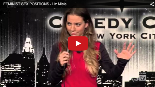 screen shot of Liz Miele's show