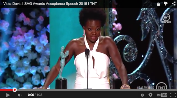 Viola Davis acceptance speech screenshot