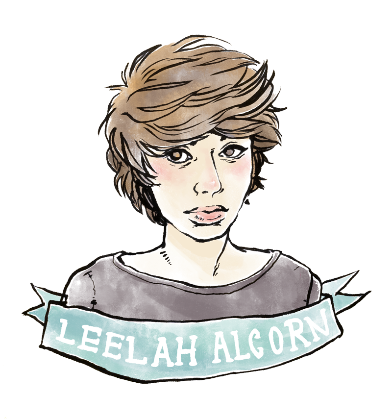 Leelah Alcorn drawing