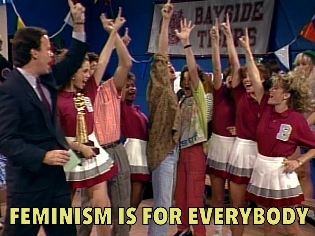 """Feminist is for everybody"""