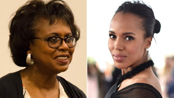 anita hill and kerry washington