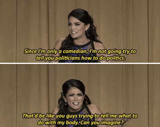 Cecily Strong at the White House Correspondents Dinner