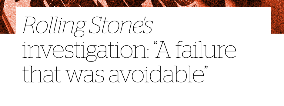 Rolling Stone's failure header