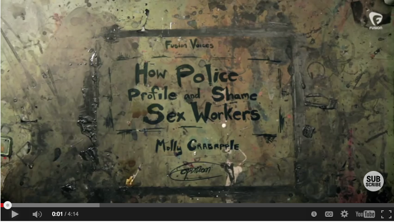Molly Crabapple's video on profiling sex workers