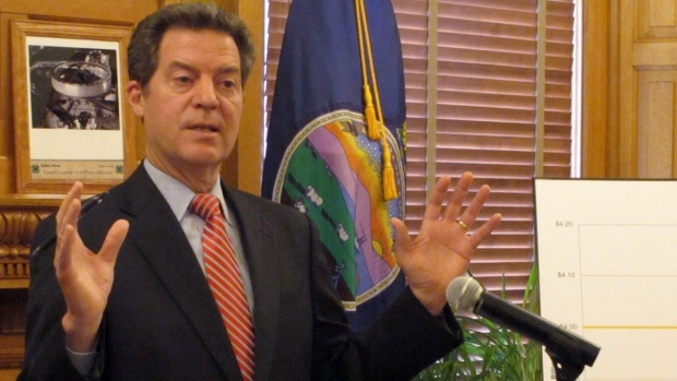 Kansas Gov Sam Brownback