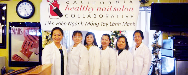 From the healthy nail salon program, http://www.cahealthynailsalons.org/what-is-hns/about-healthy-nail-salons/