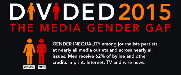 Divided 2015: The media gender gap