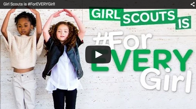 girl scouts is for every girl