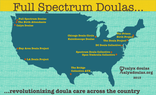 doula project map