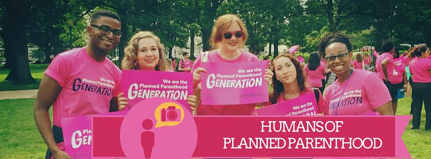 humans of planned parenthood banner