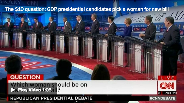 gop candidates answering question