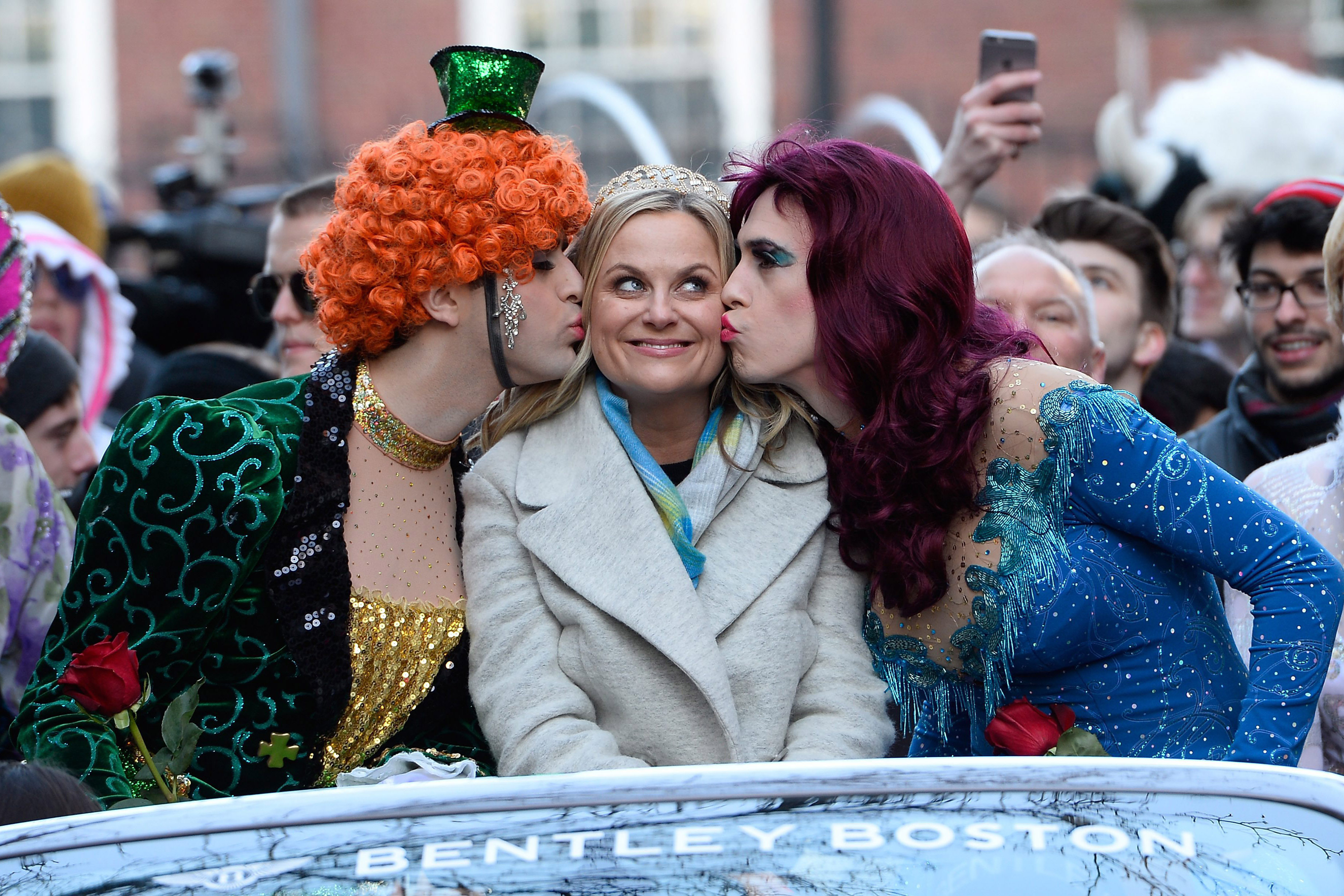 Amy Poehler 2015 Hasty Pudding Woman of the Year