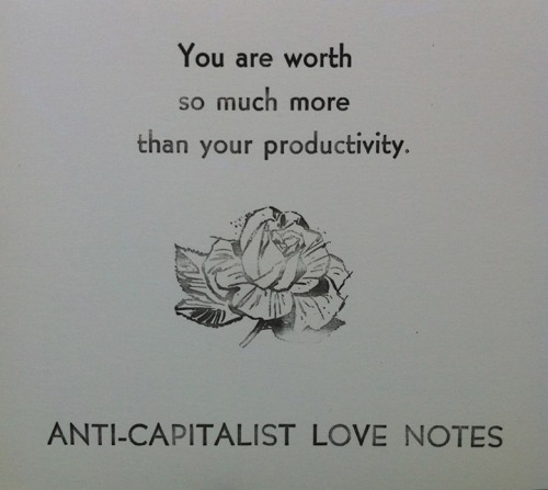 You are worth more than your productivity