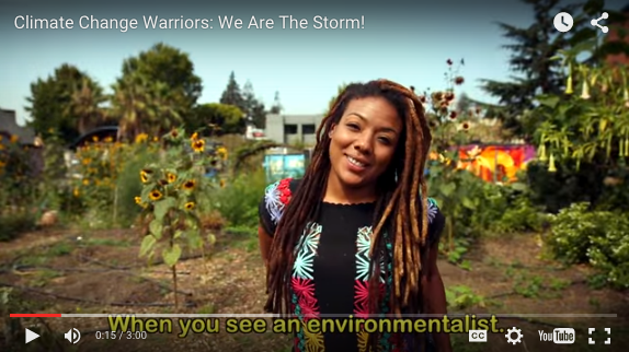 "screen shot of ""we are the storm"" video"