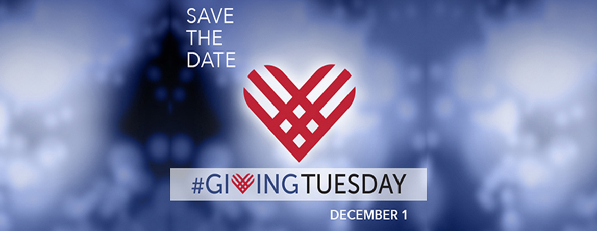 Save the date Giving Tuesday December 1