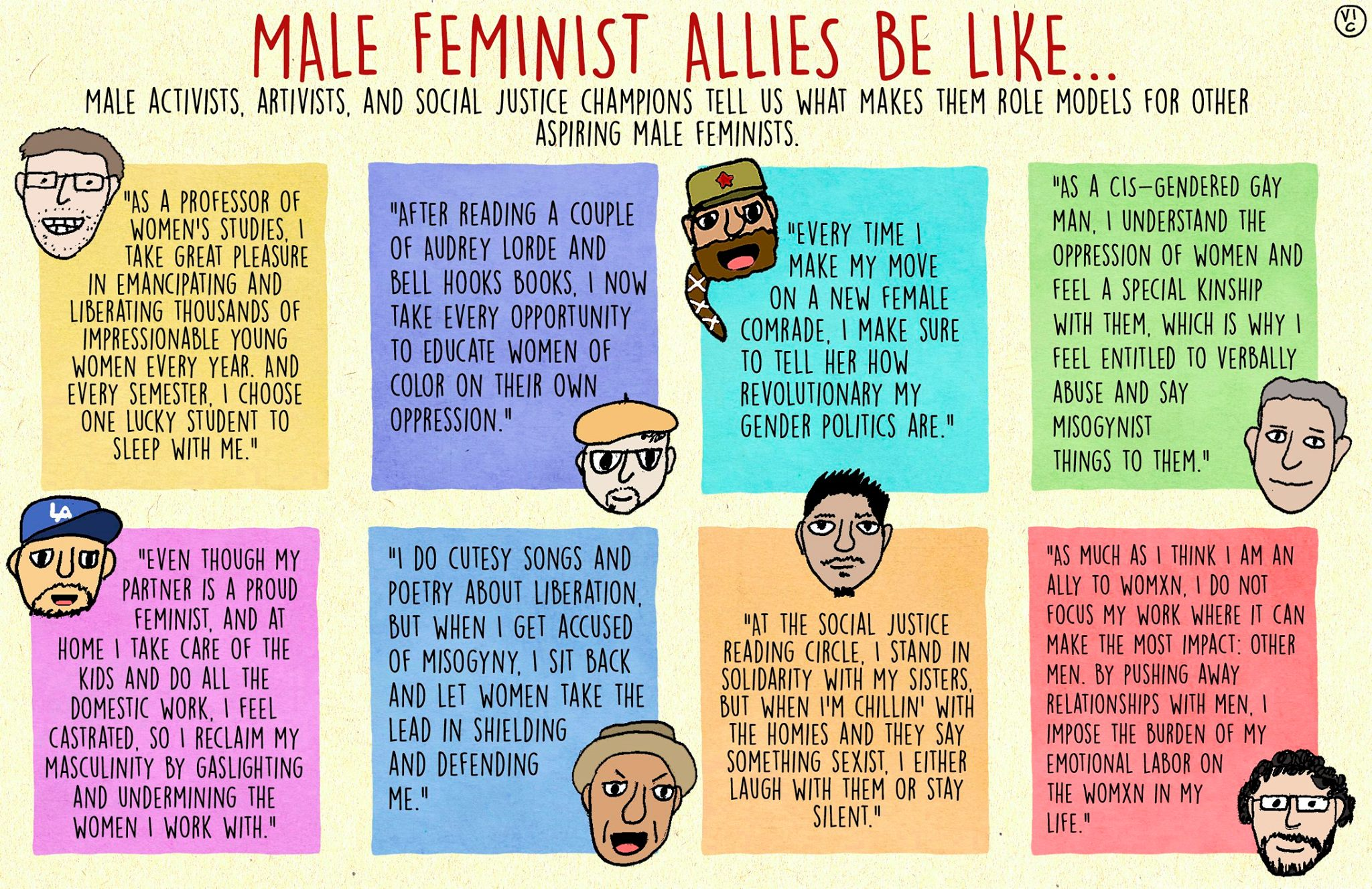 Why I'm a Male Feminist and Not a Men's Rights Activist