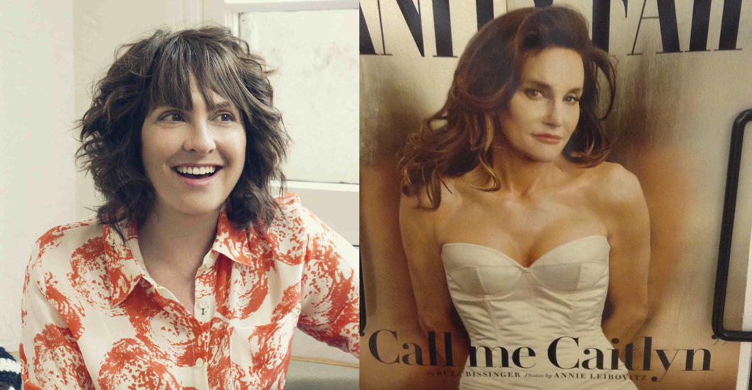 Jill Soloway and Caitlyn Jenner