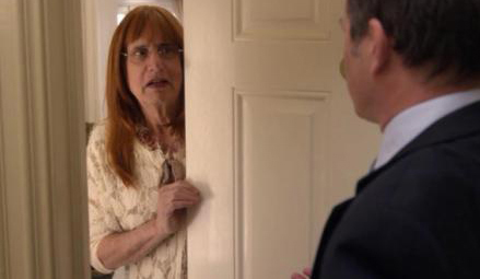 Jeffrey Tambor as a trans woman on Arrested Development