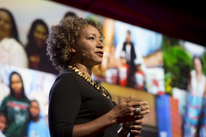 Mia Birdsong speaks at TEDWomen2015 - Momentum, Session 5, May 28, 2015, Monterey Conference Center, Monterey, California, USA. Photo: Marla Aufmuth/TED