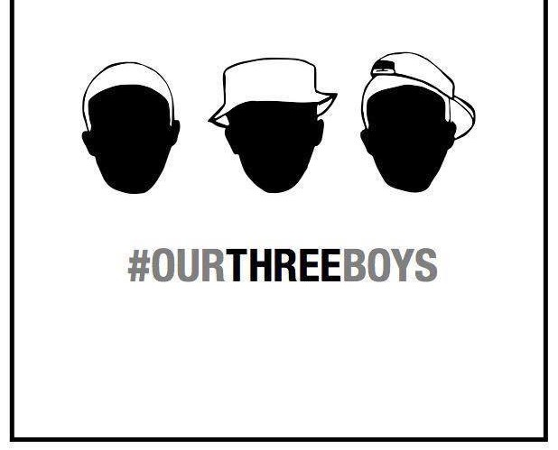 #OurThreeBrothers