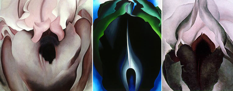 Georgia O'Keefe paintings