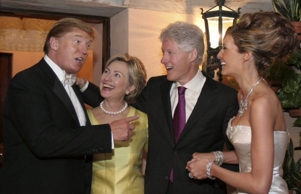 Trump-Wedding-Yay-Clintons