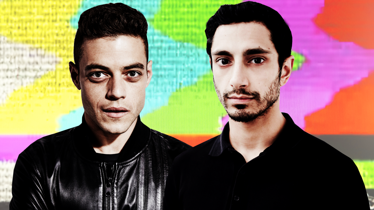 A picture of Riz Ahmed and Rami Malek, two recent South Asian and Middle Eastern male leads on television.