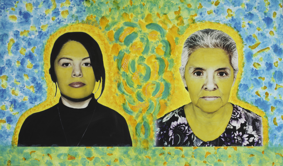 Mabel Valdiviezo, Mother and Daughter #1, image via Mabel Valdiviezo