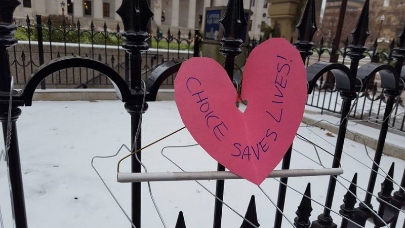 coat hanger protest abortion