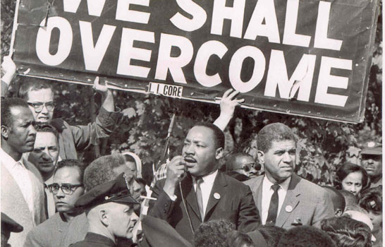 mlk we shall overcome
