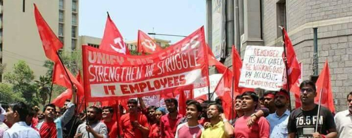 bangalore it workers march