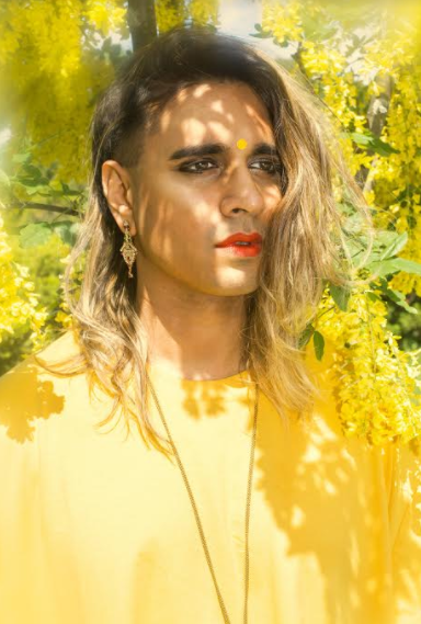 Vivek in yellow